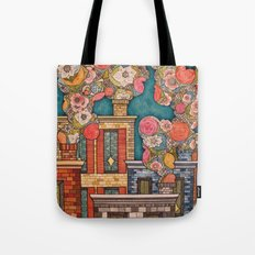 Chimney Fields Tote Bag
