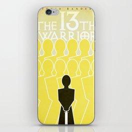The 13th Warrior iPhone Skin