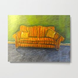 The Couch Metal Print