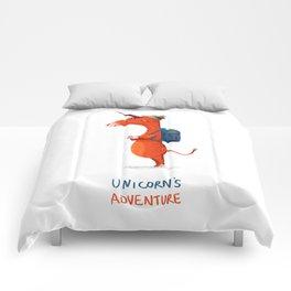 Unicorn's adventure Comforters