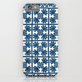 Blue Oak Leaf iPhone Case