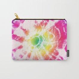 Tie-Dye Sunburst Rainbow Carry-All Pouch