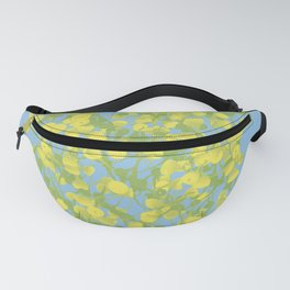 Floral Yellow Fanny Pack