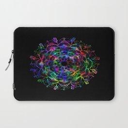 Butterfly mandala Laptop Sleeve