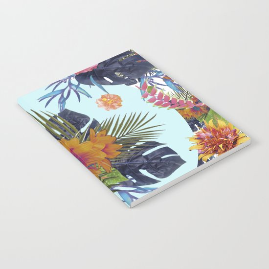 TROPICAL FLORAL Notebook