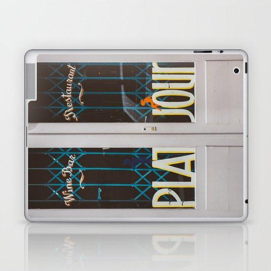 Plat du Jour Laptop & iPad Skin