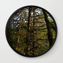 Golden Trees - Oregon Wall Clock