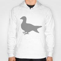 pigeon Hoodies featuring Pigeon by Giorgio Smiroldo - giorgiosmiroldo.com