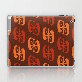Starburst Bell Peppers Orange Laptop & iPad Skin