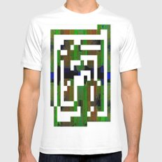 DEDALUS White MEDIUM Mens Fitted Tee