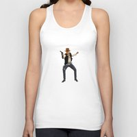 indiana Tank Tops featuring Indiana Solo by Parissis