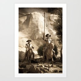 Don Quixote Of La Mancha Art Print