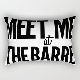 Meet Me At The Barre Rectangular Pillow