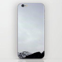 Winter mountains iPhone Skin
