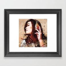 Butterfly Music Framed Art Print