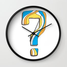 What was my question again? Wall Clock