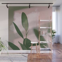 01#Ficus Elastica#cloud Wall Mural