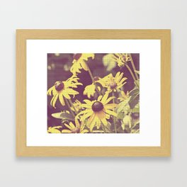 floral beauty no. 3 Framed Art Print