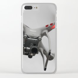 Send in the drone Clear iPhone Case