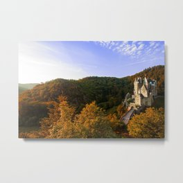 Castle in the woods Metal Print