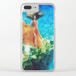 Into Deep Clear iPhone Case