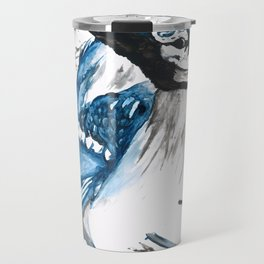 True Blue Jay Travel Mug