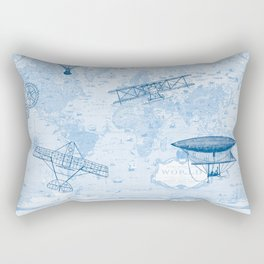 A Brief History of Flight Rectangular Pillow