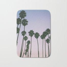 Palm Trees Sunset Bath Mat