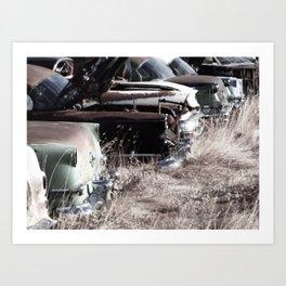 Parked Art Print