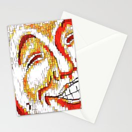 The Face of Mirth Stationery Cards