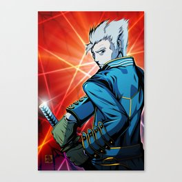 Vergil Canvas Print