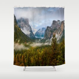 Yosemite National Park / Tunnel View  4/26/15 Shower Curtain