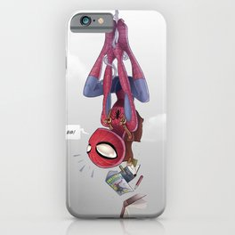Spiderman, Back to School iPhone Case