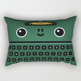 typewriter Rectangular Pillow