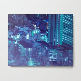 The right point of view for an order-less society Metal Print