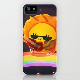 Sun Flare iPhone Case