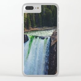 Falls, Grand Canyon of the Yellowstone Clear iPhone Case