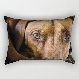 Rhodesian Ridgeback Nala Rectangular Pillow