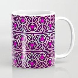 Triangle Gem Pink Coffee Mug