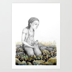 The Land Of Motionless Children Art Print