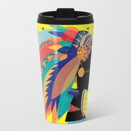 Native Indian Travel Mug