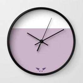 Espeon Wall Clock