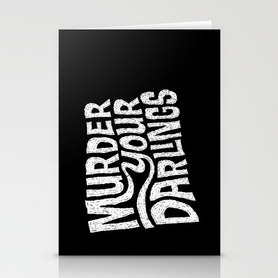 Murder Your Darlings Stationery Cards