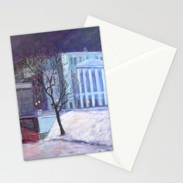 """""""On the Way to the Opera"""" Stationery Cards"""