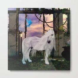 Wonderful unicorn Metal Print