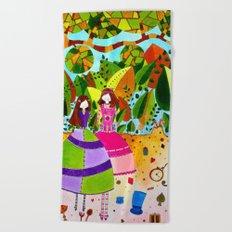 Alice in Wonderland #12 Beach Towel