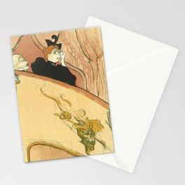 """Henri de Toulouse-Lautrec """"La loge au mascaron doré (Box with the Gilded Mask)"""" Stationery Cards"""