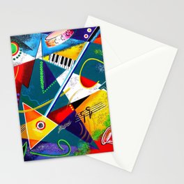 Performing Arts - Energy of Music Stationery Cards