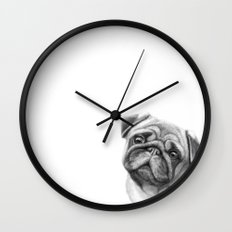 The Pug G123 Wall Clock
