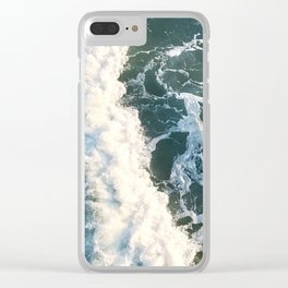 crash here for a moment Clear iPhone Case